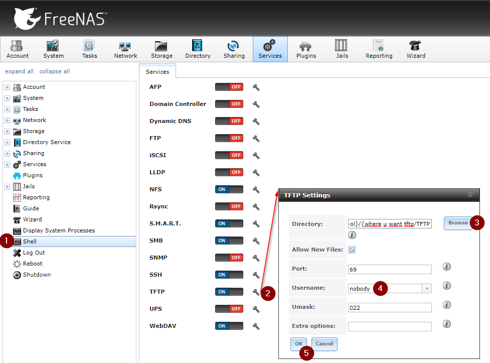 FreeNAS TFTP write – www nilz net